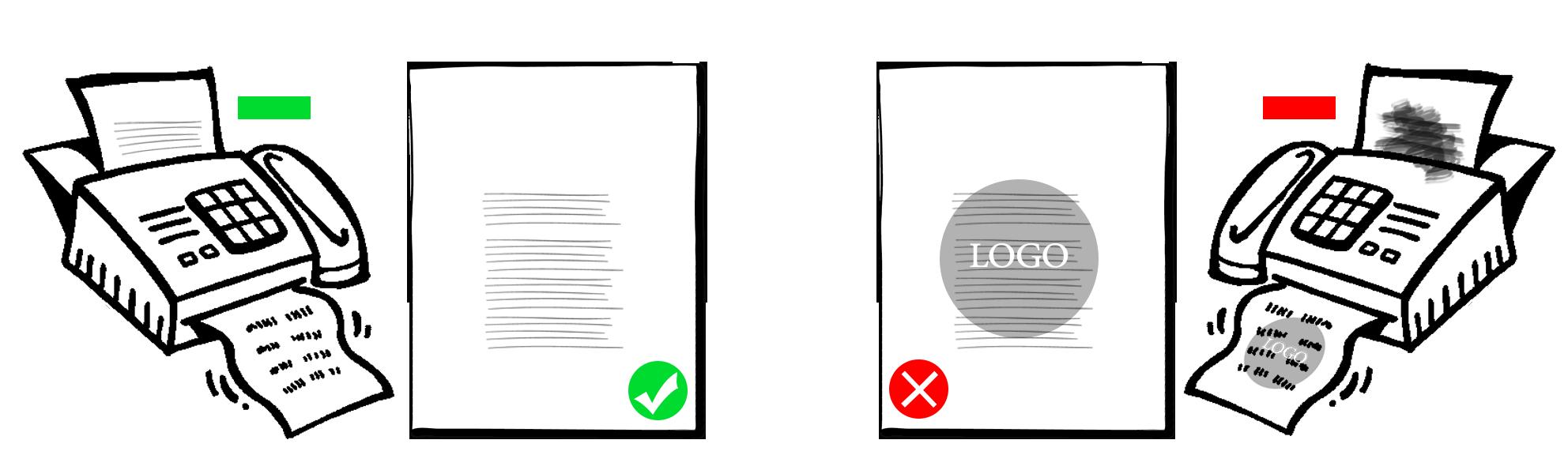 طراحی گرافیکی سربرگ استاندارد