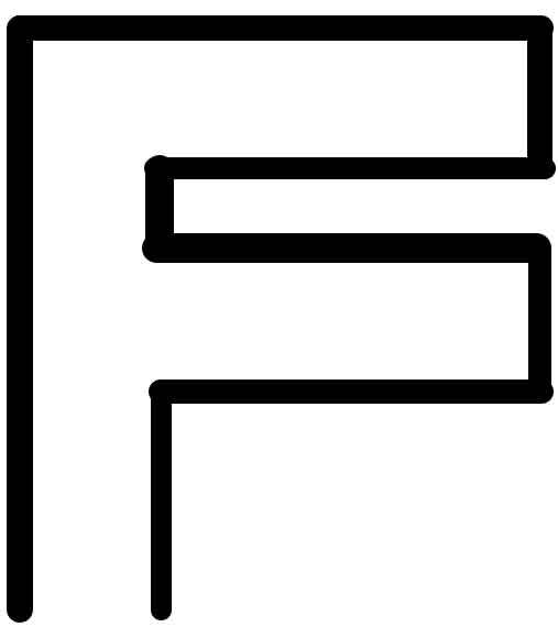 فضای اف شکل در واسط کاربری